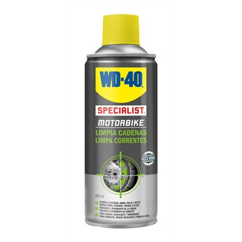 Spray moto WD-40 Limpia Cadenas 400 ml