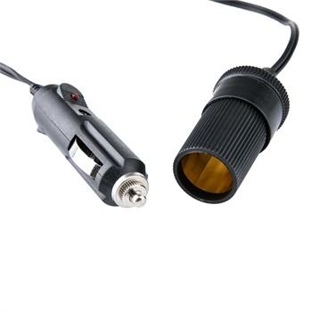Conector del encendedor de cigarrillos encendedor de cigarrillos hembra con cable 2m para vehículos camiones