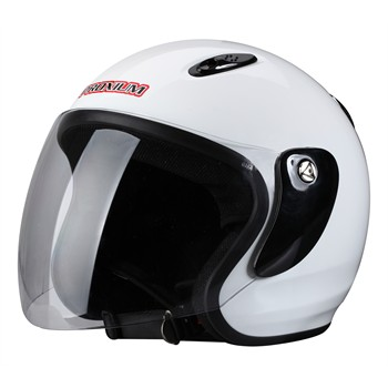 Casco Moto Jet RIDE 601 blanco XL