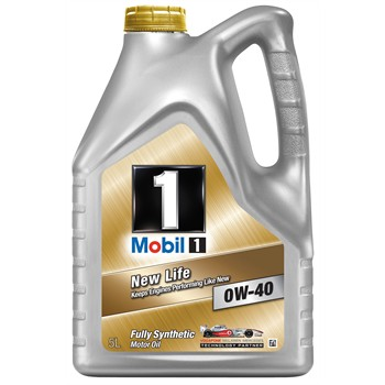 Aceite motor mobil 1 new life 0w40 gasolina 5l for Aceite motor gasolina
