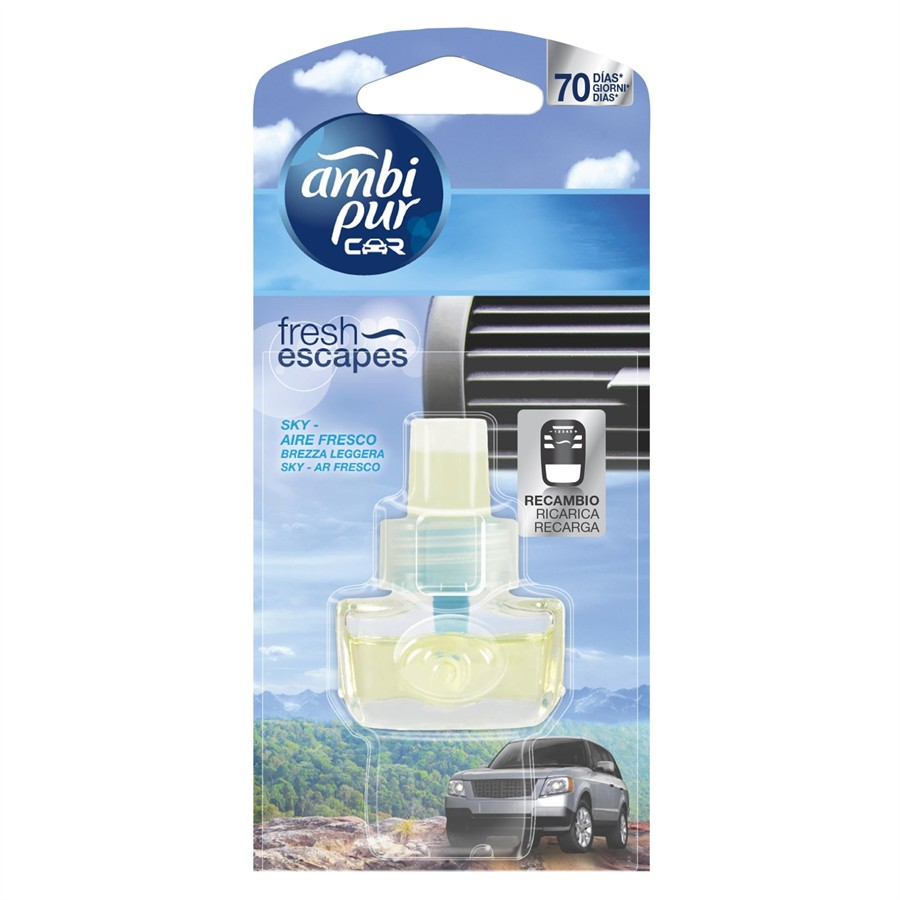 Recambio AMBIPUR CAR Open Sky 7ml