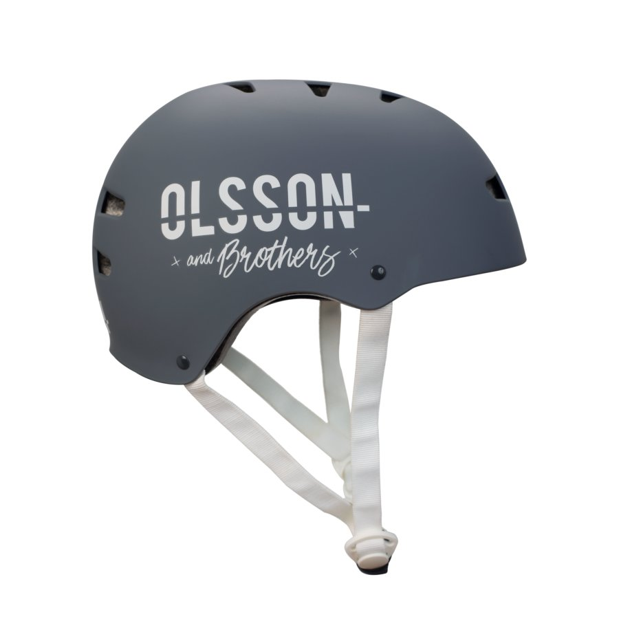 Casco bicicleta/patinete adulto OLSSON antracita talla M/L