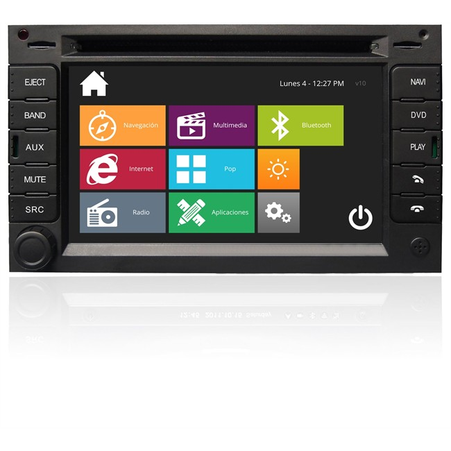 Ongekend Autoradio DVD NAVISSON VW GOLF IV NV-VW003V10 : Norauto.es AA-56