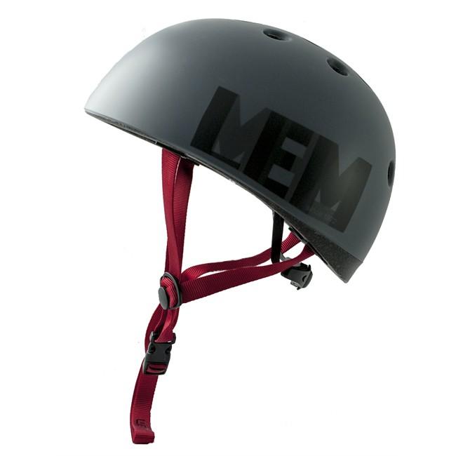 3876a20bf4 Casco bicicleta adulto LEM CITY gris oscuro con logo talla L ...