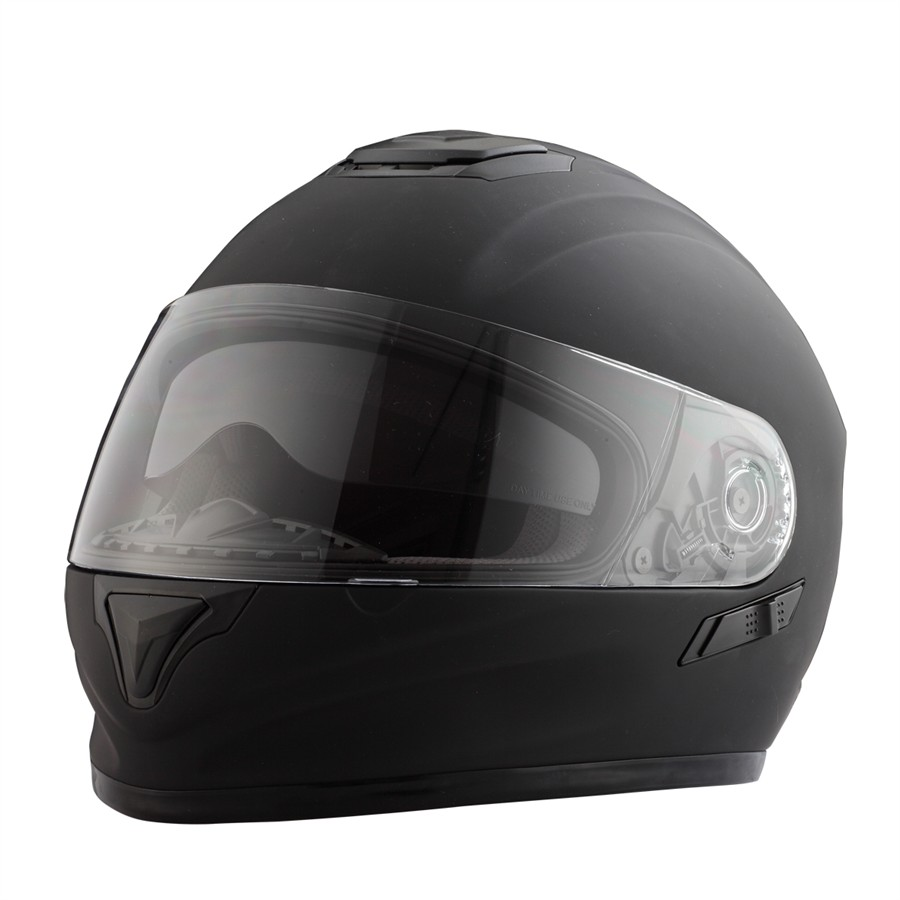 Casco Moto integral RIDE 801 negro mate XL