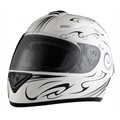 Casco Moto integral RIDE 701 Omaha blanco L