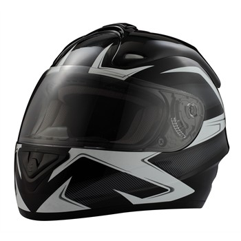 Casco Moto integral RIDE 701 Trox negro S