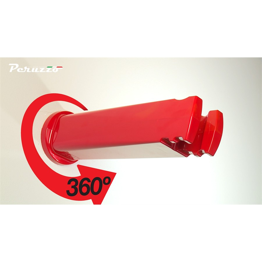 Soporte Bici pared Cool Bike Rack Rojo
