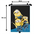 1 cortinilla enrollable MINIONS 46x56 cm