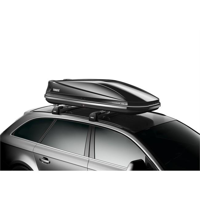 Maletero de techo thule touring 780 negro brillante 420 l for Maletero techo coche