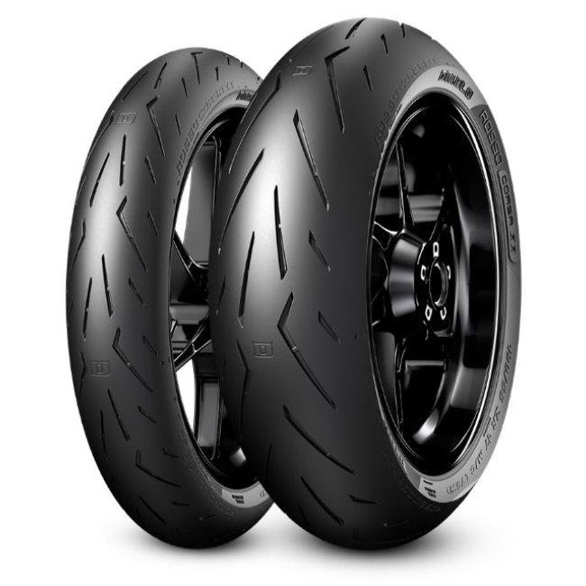 Neumático - Moto - DIABLO ROSSO CORSA II - Pirelli - 120-70-17-58-W