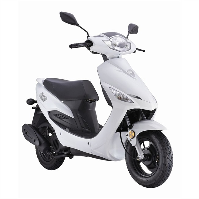 scooter ride 50cc jump blanco. Black Bedroom Furniture Sets. Home Design Ideas