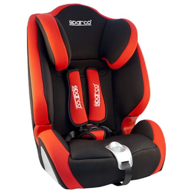 Realce sparco f1000 rojo gr 1 2 3 - Silla bebe sparco ...